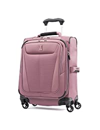 Travelpro Maxlite 5 International Carry-On Size - Expandable Spinner Luggage, Dusty Rose