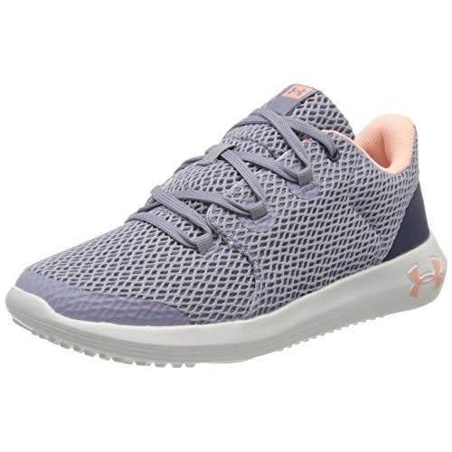 chollos oferta descuentos barato Under Armour Zapatillas de running para Unisex niños Morado Purple Dusk White Peach Frost 500 38 EU