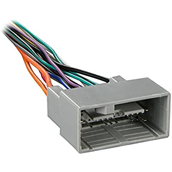 amazon com metra 70 1729 radio wiring harness for honda 2008 up rh amazon com Romex Wiring Connector Wire A C Compressor Connection
