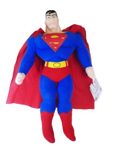 Superman plush Doll - 10in Soft Justice League Superman Stuffed Plush by Kelly Toy ()