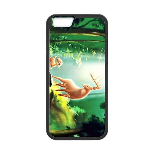 Bambi 011 coque iPhone 6 4.7 Inch cellulaire cas coque de téléphone cas téléphone cellulaire noir couvercle EOKXLLNCD26028