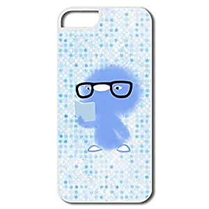 Customized Shcok Absorption Chicken Wear Glasses Reading For Iphone 5 Covers
