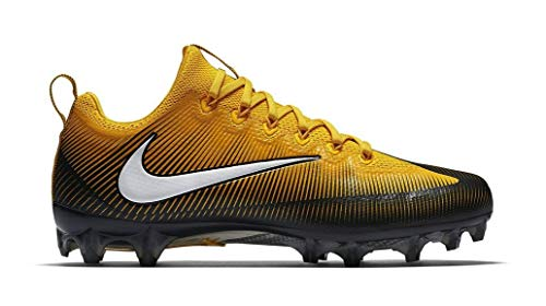 Pittsburgh Pro Football - Nike Vapor Untouchable Pro PF Pittsburgh Steelers Men's Football Cleats 14.5 US Gold-Black