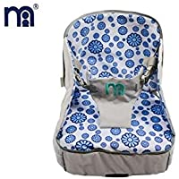 Baby Grow Travel 3-in-1 Multi-Function Inflatable Baby Booster Seat (BLUE)