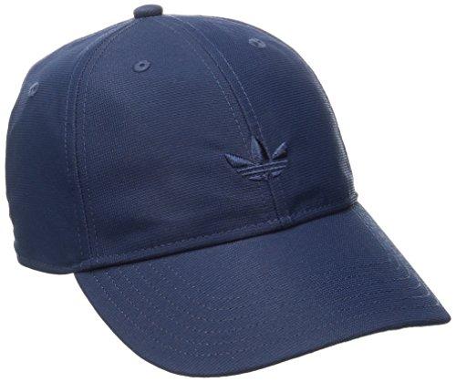 adidas Men's Originals Relaxed Strapback Cap, One Size, Collegiate Navy