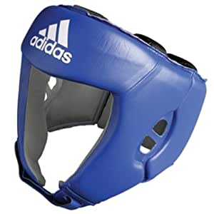 adidas AIBA approved Boxing Head Guard Blue (Small)