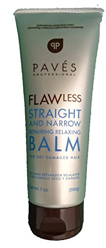 Paves Professional Flawless Straight and Narrow Repairing Relaxing Balm (Volume Glossy Pro Conditioner)