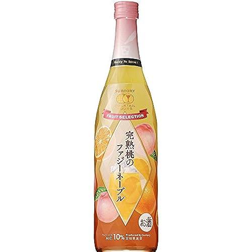 サントリー カクテルツアーズ 完熟桃のファジーネーブル