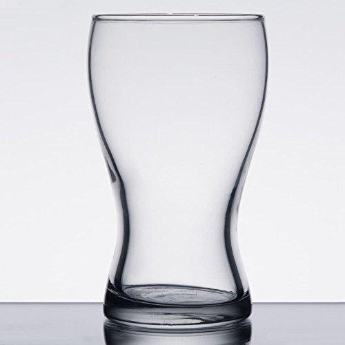SET of 6, Libbey 4809 MINI 5 oz Pub Glass w/Signature Party Picks
