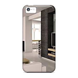 Series Skin Case Cover For Iphone 5c(lovely Modern Room Design)