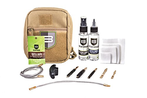 Beakthrough Clean Technologies QWIC-MIL Pull Through Cleaning Kit (Desert Tan)