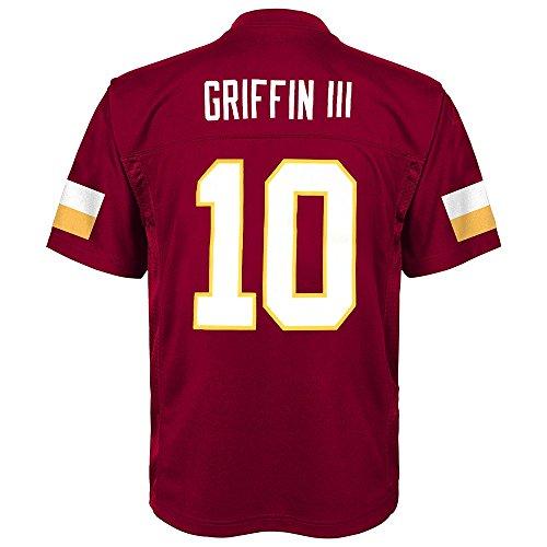 - Outerstuff Robert Griffin iii NFL Washington Redskins Mid Tier Replica Home Jersey Boys 4-7