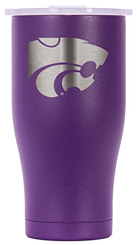 ORCA Chaser Laser Etched Kansas State Cooler, Purple, 27 oz by ORCA Coolers