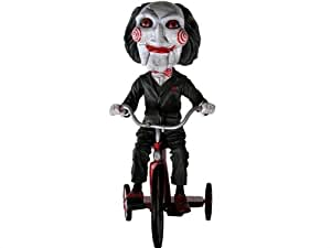SAW the Movie Puppet on Tricycle 8in Extreme Bobble Head Knocker