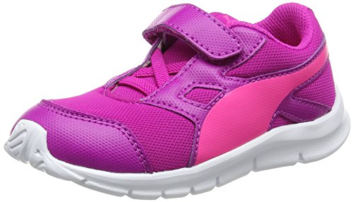 Puma Unisex-Kinder Flexracer V Inf Low-Top Pink (ultra magenta-knockout pink 11)