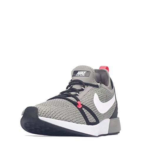 Nike Mens Duel Racer, Light Charcoal / White-pale Gray, 7.5 M Us