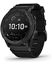Garmin tactix Delta Solar with Ballistics, Solar-Powered Specialized Tactical Watch, Ruggedly Built to Military Standards, Night Vision Compatibility, Black (010-02357-50)