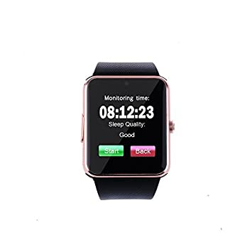 "TOKUYI® GT08 Reloj Inteligente por Bluetooth Smart Watch Pulsera pantalla de 1.56"" con cámara"