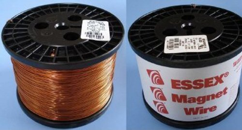 Essex Magnet Wire 17 AWG Gauge Enameled Copper Wire - 10 LBS by Superior Essex