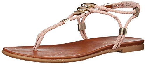 Madden Girl Women Flexii Gladiator Sandal Blush Fabric