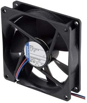 Universal - Ventilador axial 92x92x25 12V DC4.8W *: Amazon.es ...