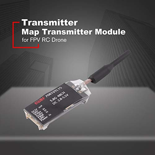Wikiwand 1PCS 7081P EWRF 25mW Transmitter Module 5V Output Support PWM OSD Configuring by Wikiwand (Image #5)