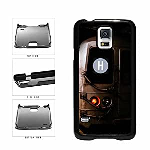Personalized NYC Train Custom Letter H Plastic Phone Case Back Cover Samsung Galaxy S5 I9600