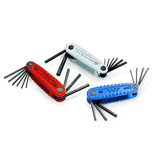 Craftsman 3 Piece Hex Key Set with 24 Keys. Contains 24 Asso