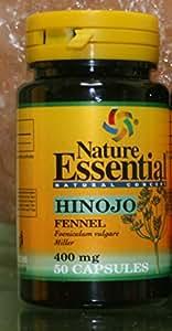 HINOJO 400 mg 50 cápsulas