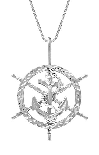Sterling Silver Anchor Necklace Pendant product image