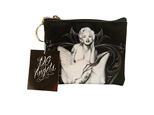 David Gonzales Art key chain coin purse Marilyn Monroe