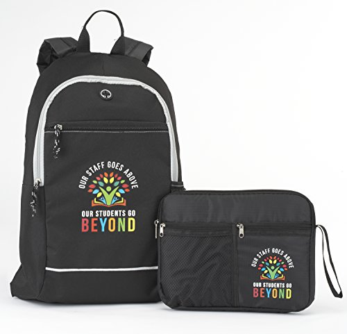 Teacher & Staff Appreciation Gift Set- Includes Backpack and Multipurpose Carrying Case