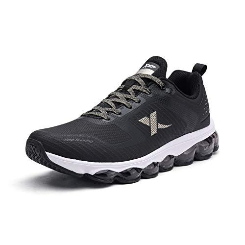 Xtep ランニングシューズ 陸上競技 2e スポーツシューズ マラソンに対応 通気性良い 超軽量 運動靴