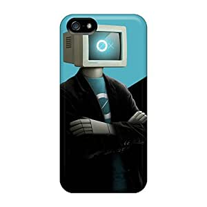 New Arrival Case Cover With NxIxf6086QOOcf Design For Iphone 5/5s- Humanoid