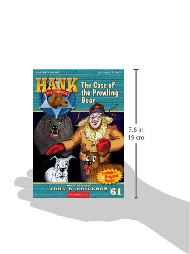The Case of the Prowling Bear (Hank the Cowdog (Audio))