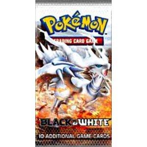 B & W Pokemon Booster