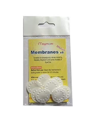 Maymom Replacement Membranes for Medela Medela Pump in Style Breastpump, Lactina, Swing and Symphony Pumps, (Symphony Membrane)