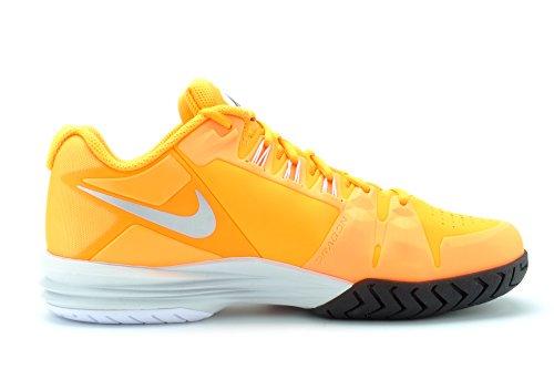 Nike Mujeres Lunar Ballistec 10.5 M Ee. Uu. Atomic Orange / Metallic Platinum