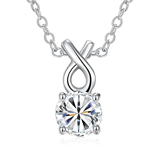 lovav-party-prom-necklace-platinum-plated-necklace-round-zircon-pendant