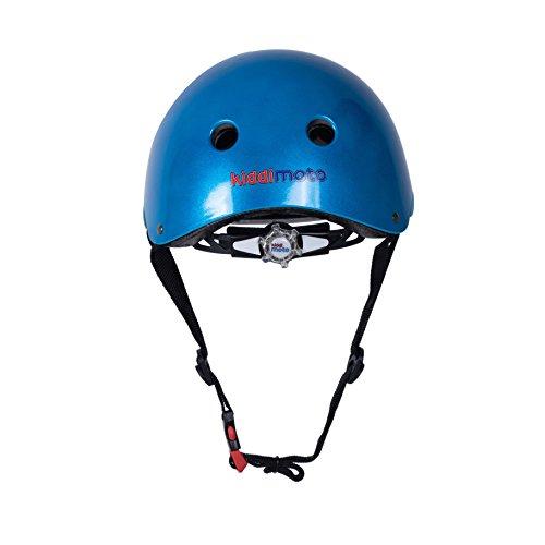 Kiddimoto Helmet, Metallic Blue, Small (48-53 cm) by Kiddimoto (Image #2)