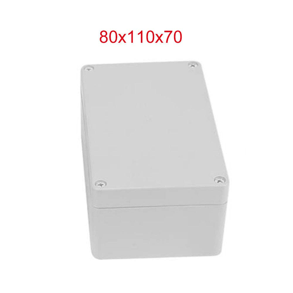 Plastic Enclosure MASO 150 * 200 * 130 IP65 ABS White Weatherproof Outdoor/External Enclosure Power Junction Box Complete with Connector