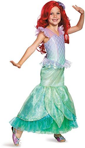 Ariel Ultra Prestige Disney Princess The Little Mermaid Costume, Medium/7-8