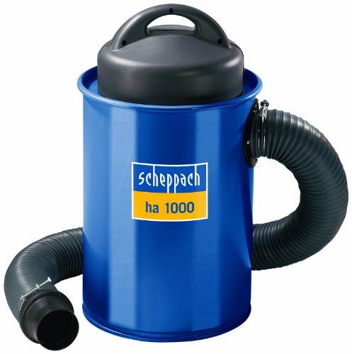 Scheppach 4906302901 Absauganlage ha 1000 inkl. Adapter Set,   1100 W 230V 50Hz