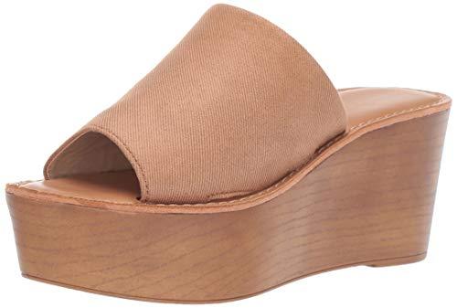 (Chinese Laundry Women's Waverly Wedge Sandal, Natural, 7.5 M US)