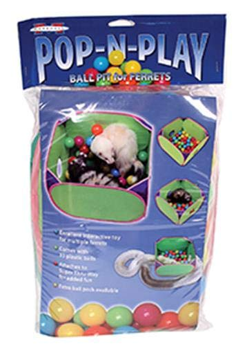 (Marshall Pet Products Pop-N-Play Ball Pit)
