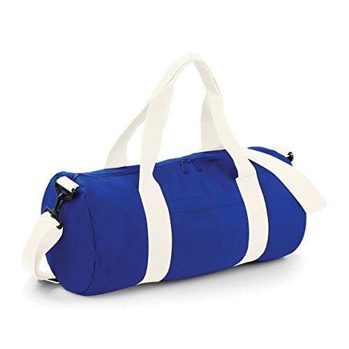 White Navy BagBase Barrel Varsity Bag Off French w7xIwq6YaU