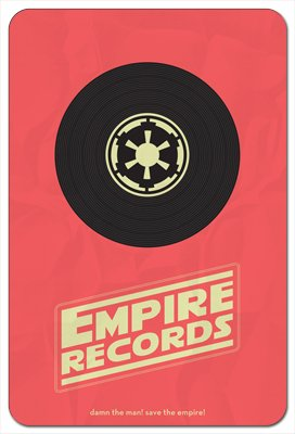 Movie Poster 95 - Empire Records 8x12 Metal Poster ()