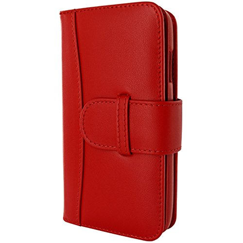 Piel Frama Wallet Case for Apple iPhone 6 Plus - Red