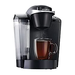 Keurig Elite Brewing System K55 Single Serve Programmable K-Cup Pod Coffee Maker | Auto-Off | Removable Drip Tray | Temperature Control | Quiet Brew Technology | UL Listed | Black made by Keurig-coffee
