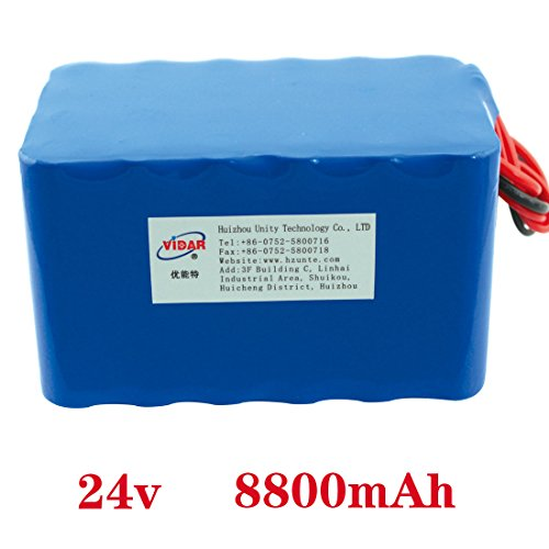 - 24v 8800mah rechargeable li-ion polymer battery pack supplier in china for power source